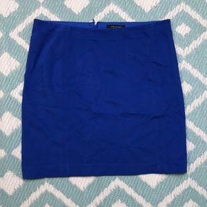 Ann Taylor sz 6 Blue Skirt Stretch Pencil